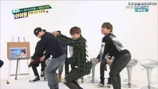 getlinkyoutube.com-[Thai sub] 140430 Weekly Idol BTS Girl's Group Dance Cut จองกุก...
