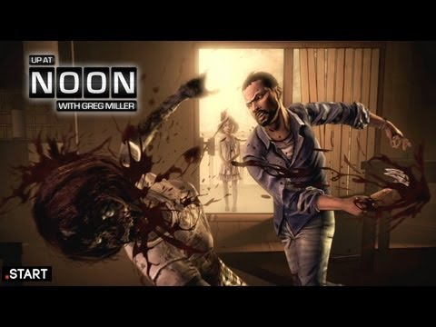 Exclusive The Walking Dead Game Trailer! - Up At Noon