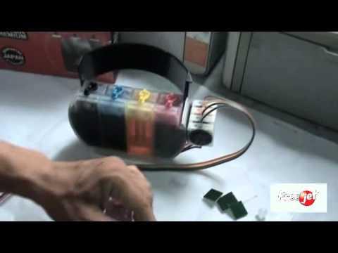 how to open hp deskjet 1000 printer