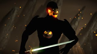getlinkyoutube.com-Mortal Kombat X PC Mod Dark Kenshi Costume Skin Intro Gameplay Fatality Brutality X-Ray 1080p 60FPS