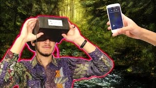 كيف تصنع نظارات 3D ( الواقع الافتراضي VR )