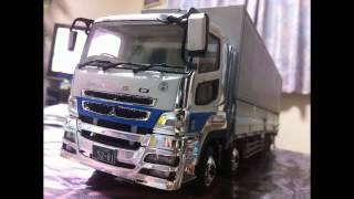 getlinkyoutube.com-アオシマ 1/32 トラックプラモデル