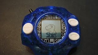 getlinkyoutube.com-河馬的異想空間(河馬的玩具Vlog)-Digimon Digivice ver.15th 石田大和15週年 神聖計畫 D2怪獸對打機