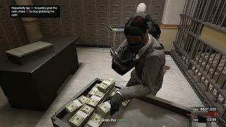 getlinkyoutube.com-GTA 5 - Online Heists Büyük Final Soygunu - Pacific Standart Bank #6 - 1080p ᴴᴰ 60 FPS