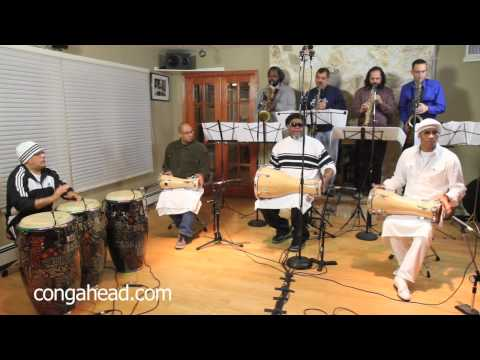 Afro Cuban Jazz Saxtet performs Manteca arranged by Onel Mulet