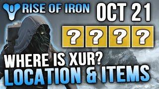 getlinkyoutube.com-Xur Location Oct 21 2016 Destiny Where is Xur 10/21/2016 Destiny Rise of Iron Exotics