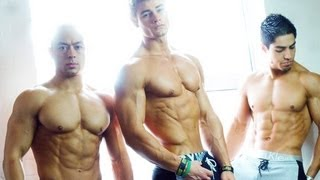 getlinkyoutube.com-Aesthetic Bodybuilding & Fitness Motivation Workout in London ft. Jeff Seid, Alon Gabbay, Matt Ogus