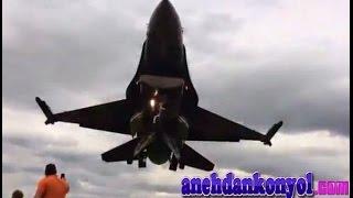 getlinkyoutube.com-atraksi pesawat jet terbang rendah di atas kepala