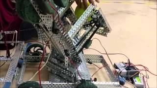 getlinkyoutube.com-Titanium Tigers - VEX Nothing But Net Robot Prototype