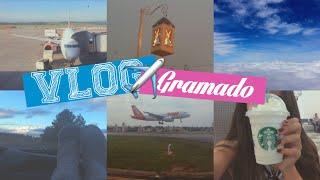 VLOG DE VIAGEM: Gramado e Canela - Dia 1 (Aeroporto, Starbucks, Hotel) | Ana Laura Lopes
