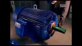 Производство асинхронного электродвигателя