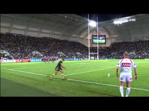 Johnathan Thurston Best Conversion vs New Zealand 2011