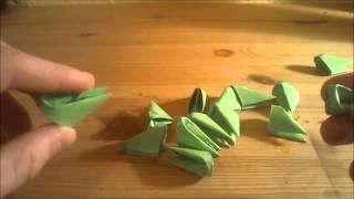getlinkyoutube.com-3D Origami für Anfänger Deutsch