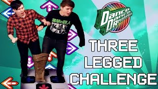 getlinkyoutube.com-THREE-LEGGED DDR CHALLENGE