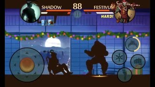 getlinkyoutube.com-Shadow Fight 2: Tiny Titan: VS Festifus (2015 CHRI