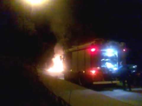 поджог БМВ Х5 в Калуге