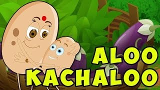 getlinkyoutube.com-Aloo Kachaloo Hindi Poem - Hindi Nursery Rhymes for Children