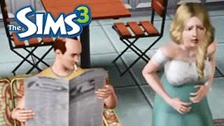 getlinkyoutube.com-Sims 3 Funny Moment! 10 most stupid things to do while your wife gives birth