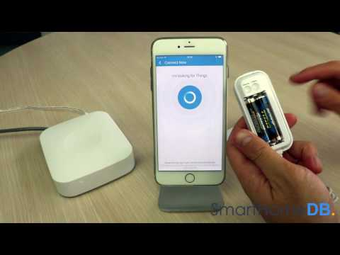 HOW-TO: Pair and Connect your Samsung SmartThings Hub with an Aeotec Water Sensor