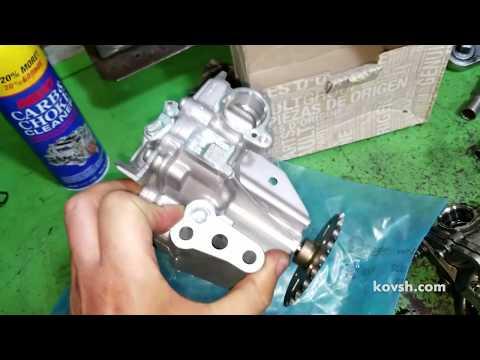 Замена цепи ГРМ на Renault Scenic 1.6d, R9M402