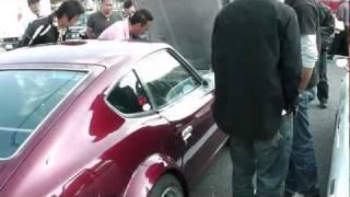getlinkyoutube.com-第6回 門司港レトロカーミーティング2011 外野編③ S30Z ハコスカ 旧車