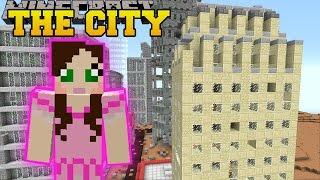 getlinkyoutube.com-Minecraft: SKYSCRAPERS! (SURVIVE IN A CITY, TOWN, & VILLAGE!) Mod Showcase