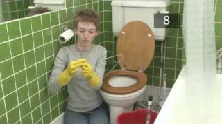 getlinkyoutube.com-How To Unblock A Toilet