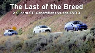 getlinkyoutube.com-New STI vs EVO X vs Old STI, The Last of the Breed - Everyday Driver