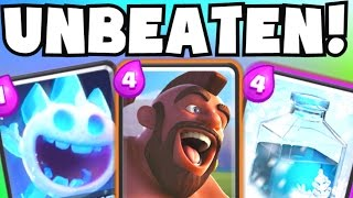getlinkyoutube.com-Clash Royale NEW UNBEATABLE TRIFECTA 3.0 DECK STRATEGY NO LEGENDARY CARDS | UNDEFEATED DECK GAMEPLAY