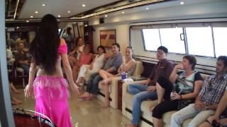 getlinkyoutube.com-Belly Dance Show In yacht charter dubai