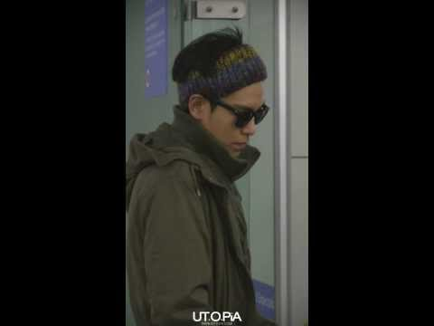 131209 Incheon Airport Heading to NY 탑 T.O.P