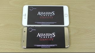getlinkyoutube.com-Galaxy S7 Edge vs iPhone 6S+ Assassin's Creed Identity - Gameplay Comparison!