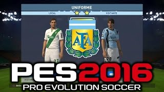 getlinkyoutube.com-Pro Evolution Soccer 2016 Liga Argentina Kits