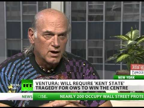 Jesse Ventura: We want to bring democracy to world & don't have it in US
