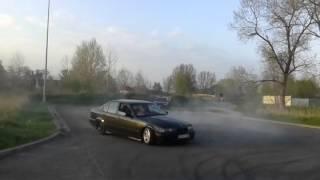 getlinkyoutube.com-BMW E36 325i M50B25 Drift