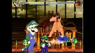 getlinkyoutube.com-Mugen: In honor of the 30TH ANNIVERSARY of Luigi!