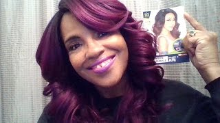 getlinkyoutube.com-ZURY SIS LACE FRONT ARI WIG Sombre Lilly Purple