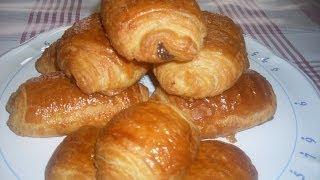 getlinkyoutube.com-Comment faire des vrais pains au chocolat ou  CHOCOLATINE  Maison