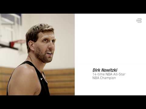 Sports Compression Knee Support NBA - Dirk Nowitzki Influencer Campaign Teaser