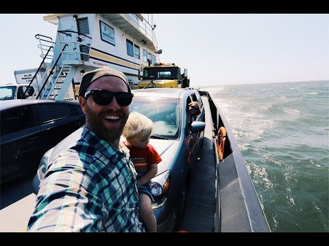 Floating Our Van - From Island To Island