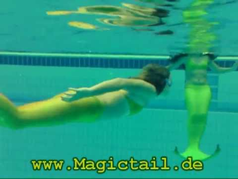 Magictail - a real mermaid tail for swimming!