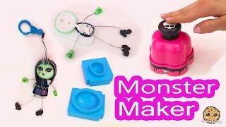 getlinkyoutube.com-Monster High Maker Machine Create A Frankie Stein Mini Doll Craft Toy Playset - Cookieswirlc Video