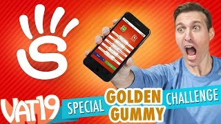 getlinkyoutube.com-Golden Gummy Challenge:  Stop! Special Edition
