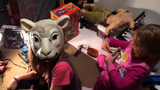 Playing with Grim's WWE Wrestling Action Figures and Divas from Mattel