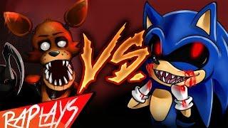 getlinkyoutube.com-FOXY VS SONIC.EXE | EPIC BATTLE | KRONNO ZOMBER | ( Videoclip Oficial )