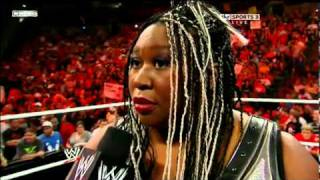 getlinkyoutube.com-WWE RAW 05/30/2011 Kharma and The Bella Twins Segment