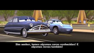 getlinkyoutube.com-DISNEY CARROS EM PORTUGUES O FILME DO JOGO RELAMPAGO MCQUEEN PIXAR CARS BRASILEIRO DUBLADO COMPLETO