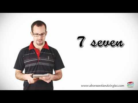 Curso Ingles Online / Leccion 5 / Numeros del 1 al 10