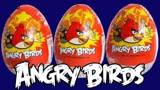 getlinkyoutube.com-Angry Birds Surprise Eggs Play Doh Angry Birds Überraschung Eier Huevos Sorpresa Toy Videos