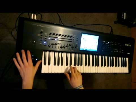 Dvorkys - Funboard - Korg Kronos + S4K Patches ( Space4Keys Keyboard Solo )